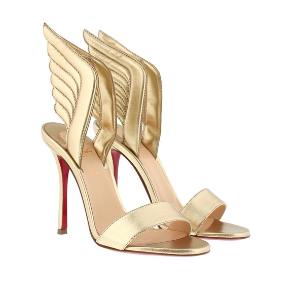 8d1529b8b36 Auth Louboutin samotresse wing sandals 37 NWT